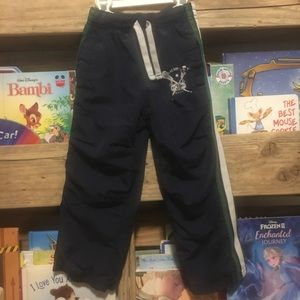 Carter's Boy's Wind-pants with Lacrosse logo sz 4